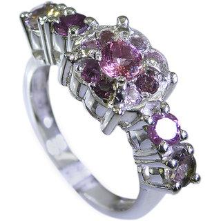 Riyo Tourmaline Dark Silver Jewelry Thumb Ring Sz 7 Srtou7-84114