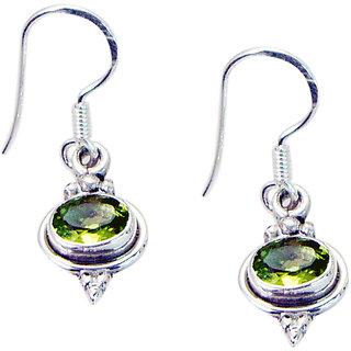 Riyo Peridot Modern Silver Jewellery Uk Gems L 1in Seper-58022