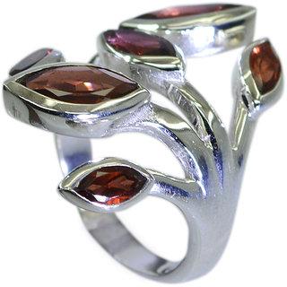 Riyo Garnet Wholesale Silver Jewelry Ecclesiastical Ring Jewelry Sz 7 Srgar7-26072