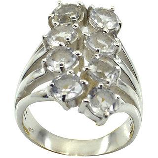Riyo CZ925 Solid Sterling Silver Durable Ring Srwhcz90-110025