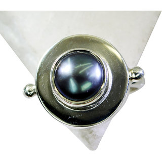 Riyo Pearl Silver Jewellery Suppliers Silver Stack Ring Sz 8 Srpea8-56011