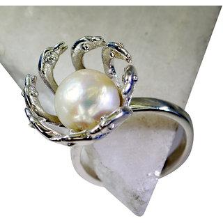 Riyo Pearl Silver Jewellery Tags Silver Star Ring Sz 9 Srpea9-56013