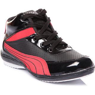 Trilokani Best Party Kids Shoes (TFC16BLACKRED)