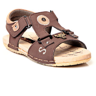 Trilokani Designer Casual Sandals (TFC27BROWN)