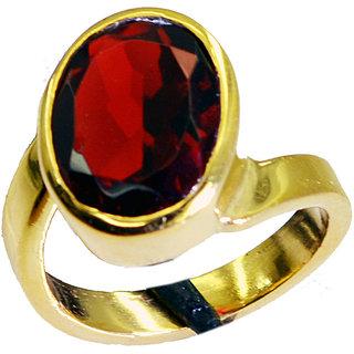 Riyo Ruby Cz Fine Gold Plated Eternity Ring Sz 6 Gprrucz6-104024