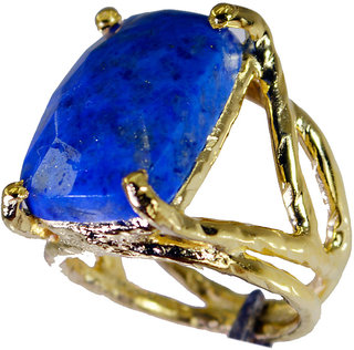 Riyo Lapis Lazuli 18 Kt Gold Fashion Toe Ring Jewelry Sz 5.5 Gprlla5.5-44053
