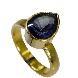 Riyo Blue Mystic Quartz Wholesale Plated Thumb Ring Sz 7 Gprbmq7-55016