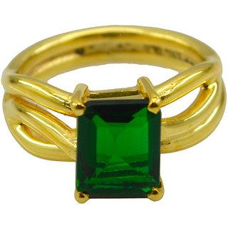 Riyo Green Emerald Cz  18kt Gold Plated Original Ring Gpremcz80-96142