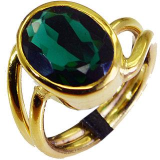 Riyo Emerald Cz 18.Kt Gold Plating  Ring Sz 8 Gpremcz8-96033