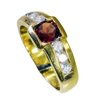 Riyo  Cz 18.Kt Base Matel Thumb Ring Sz 8 Gprmucz8-116028