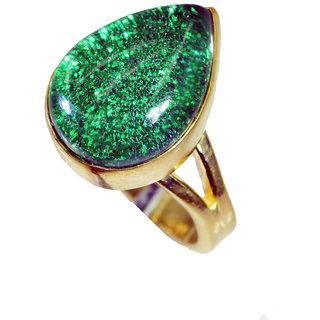 Riyo Sunstone 18c Gold Plating Cocktail Ring Sz 6 Gprsun6-78011