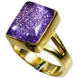 Riyo Sunstone 18.Kt Gold Plating Sports Ring Sz 7 Gprsun7-78032