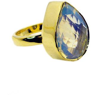 Riyo Fire Opal Cz 18kt Gold Platings Wedding Bands Sz 8 Gprfocz8-98023