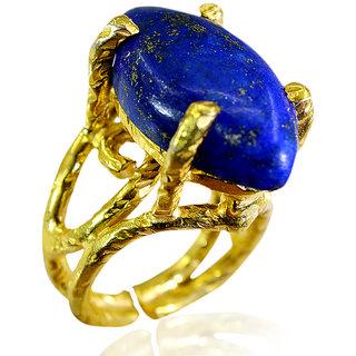 Riyo Lapis Lazuli Gold Plated Sets Toe Ring Jewelry Sz 7 Gprlla7-44010