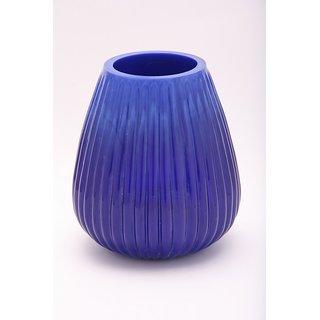 AnasaDecor Cobalt Blue Glass Votive