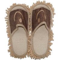 Muren Women's Beige  Brown Flip Flops