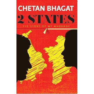 2 States by Chetan Bhagat (English & Paperback)
