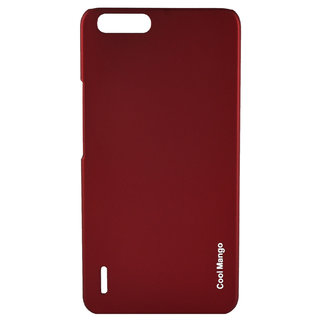Huawei Honor 6 Plus Back Cover / Case - Cool Mango Premium Rubberized - Perfect Red