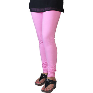 Paridhaan Exclusive Baby Pink Cotton Lycra Leggings