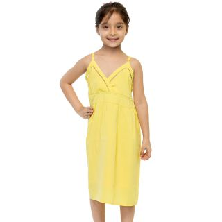 Oxolloxo Girls yellow dress