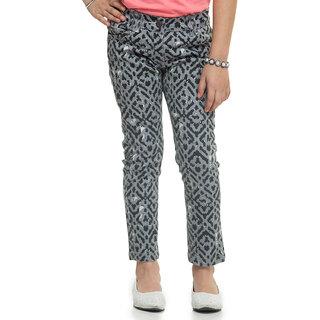 Oxolloxo Stylish Girls Printed Pants