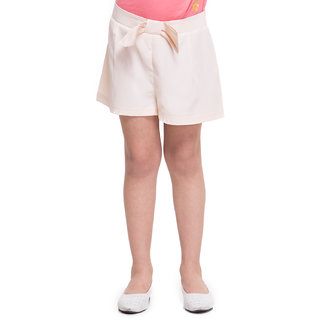 Oxolloxo Girls Off-White Shorts