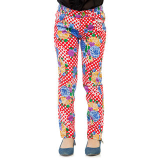 Oxolloxo Girls cotton party pants