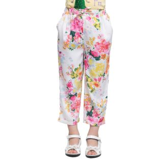 Oxolloxo Girls floral pants
