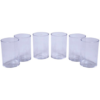 Crystal Clear Glass Set of 6