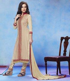designer embrodery cotten salwar suite