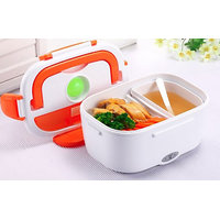 Multi Function Lunch Dabba Food  Warmer Portable Electric Lunch Box With Spoon