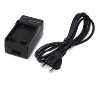 EU Standard Battery Charger + Charging Cable For GoPro Hero 3+/3 Camera