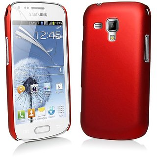 Samsung GALAXY S DUOS S7562 Red Hard Back Shell Cover Case