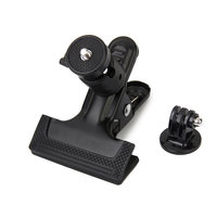 Clip Clamp Mount With Tripod Adapter For Gopro Hero  4/3+/3/2/1