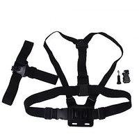 Elastic Adjustable Head Strap Chest Strap Holder Set For GOPRO HERO 4/3+/3/2
