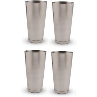 Set of 4 classy mocktail / lassi glasses Large