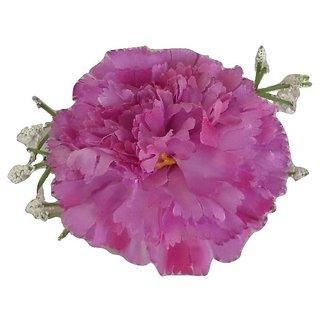 Viva Fashions Flower Bunch Hair Clip - Purple