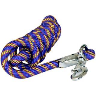 Pet Club51 HIGH QUALITY STYLISH DOG ROPE BLUE -MEDIUM
