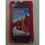 Micromax Canvas Viva A72 Hard Plastic Back Case Cover SGP Company High Quality Material Red Color