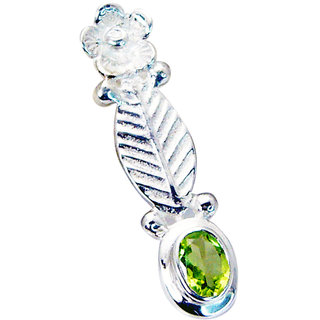 Riyo Peridot Silver Modern Jewellery Alligator Pendants L 1.5in Spper-58004