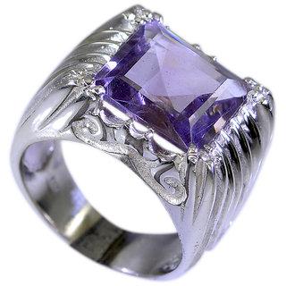 Riyo Amethyst Southwest Silver Jewelry Silver Ring Designs For Women Sz 7 Srame7-2050