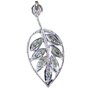 Riyo  Gemstone Silver Jewelry In India Tennis Pendants L 2in Spmul-52053