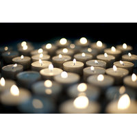 Pack Of 50 White Tealight T-lite Tea Light Candles For