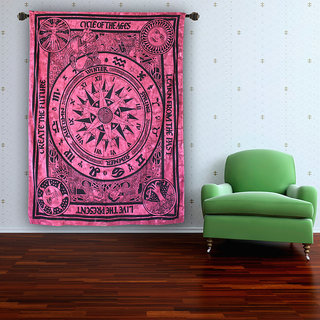Handicrunch Celtic Cycle of Ages Tapestry Spread Wall Hanging