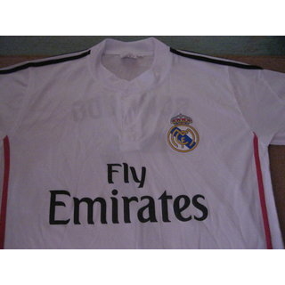 GARETH BALE NO 11 REAL MADRID FOOTBALL HOME JERSEY
