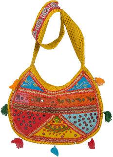 Ratash Multicolor Moon shape hand Bag