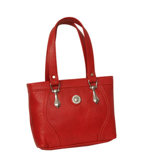 Stylish Maroon Bag With Comfortable Compartment By Greek Sojourn