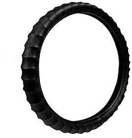 Takecare Black Car Steering Cover For Mahindra Xylo