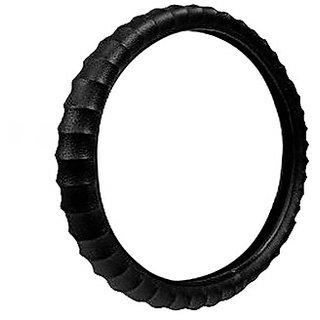 Takecare Black Car Steering Cover For Honda City I Vtec Sv