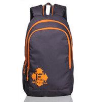 F Gear Castle Grey Orange Rugged base Backpack